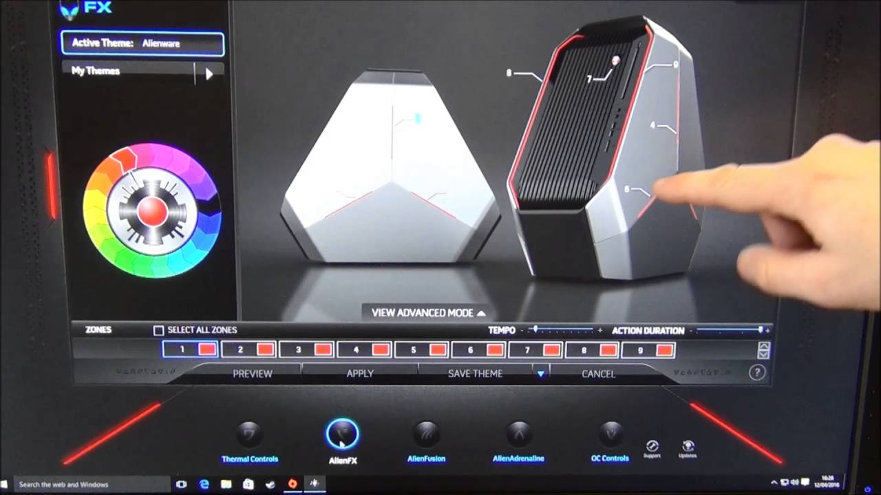 How To Remove Alienware Oc Controls