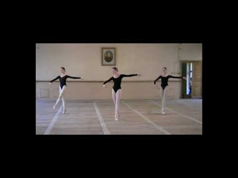 Vaganova Ballet Academy - Girls - year 7 - filmed in 2000