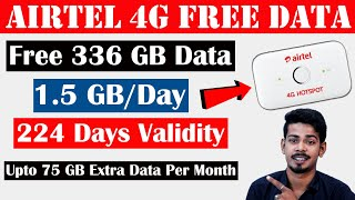 Airtel 4G Hotspot Offer - Free 336 GB Data for 224 Days | The 117