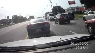 Canadian Reckless Driver  by TTC (Toronto Transit) Bus driver