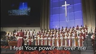 """I Feel Your Spirit"" Hezekiah Walker, United Voices Choir"