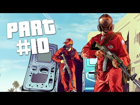 "Grand Theft Auto 5 - First Person Mode Walkthrough Part 10 ""Jewel Store Heist"" (GTA 5 PS4 Gameplay)"