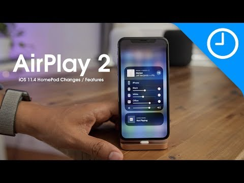 iOS 11.4 HomePod features / changes - AirPlay 2 + Stereo Pairing!
