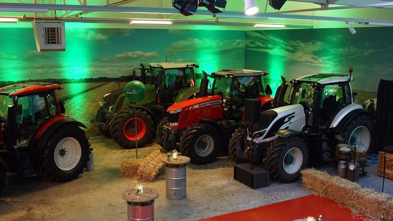 Opening Mechan Next Occasion Center In Boxtel Fendt Valtra Massey