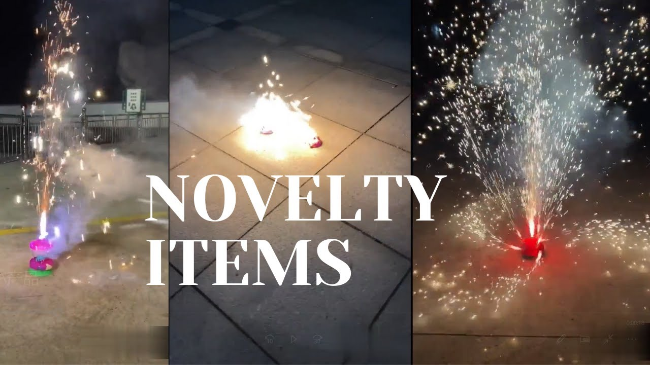 SPINNER BOOMWOW FIREWORKS FUNNY NOVELTY PRODUCTS 旋转类小产品