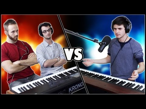 EPIC PIANO BATTLE - Frank & Zach vs. Marcus Veltri