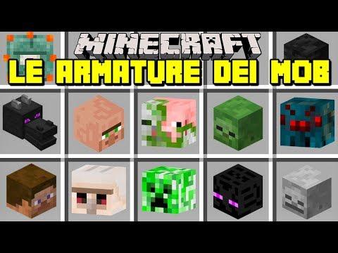 Minecraft ITA - PROVIAMO LE ARMATURE DEI MOSTRI!!