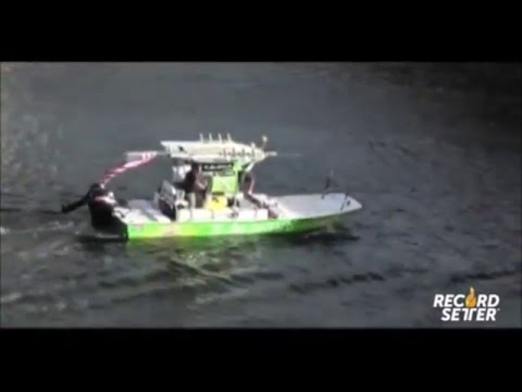 Smallest Powerboat to Cross the Atlantic (World Record!)