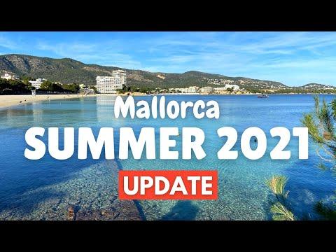 Summer Holiday 2021 Update Mallorca | from Palmanova, (Majorca), Spain, March 2021
