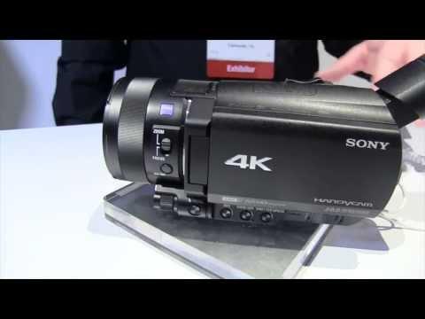 видеокамера 4к sony