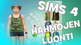SIMS 4 Suomi: HAHMOT JA TALON RAKENNUS!! #1