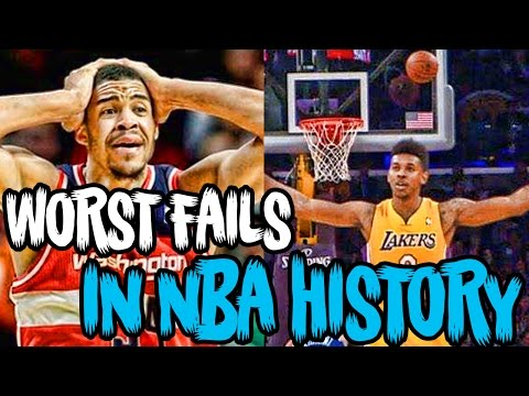 The 13 Worst FAILS AND BLOOPERS in NBA History