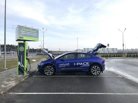 Jaguar I-Pace. Обзор электрического SUV 2020