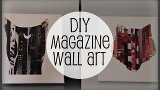 Diy Magazine Wall Art