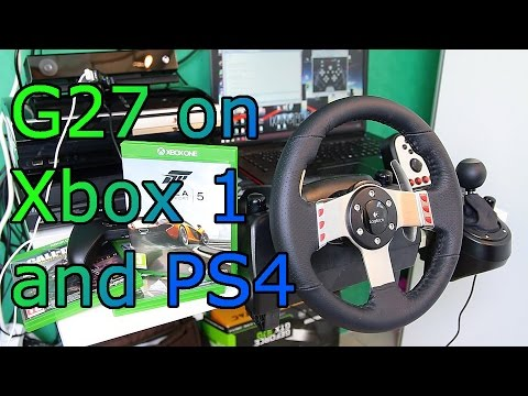 Logitech G27 On Ps4 And Xbox One How To And Forza 5