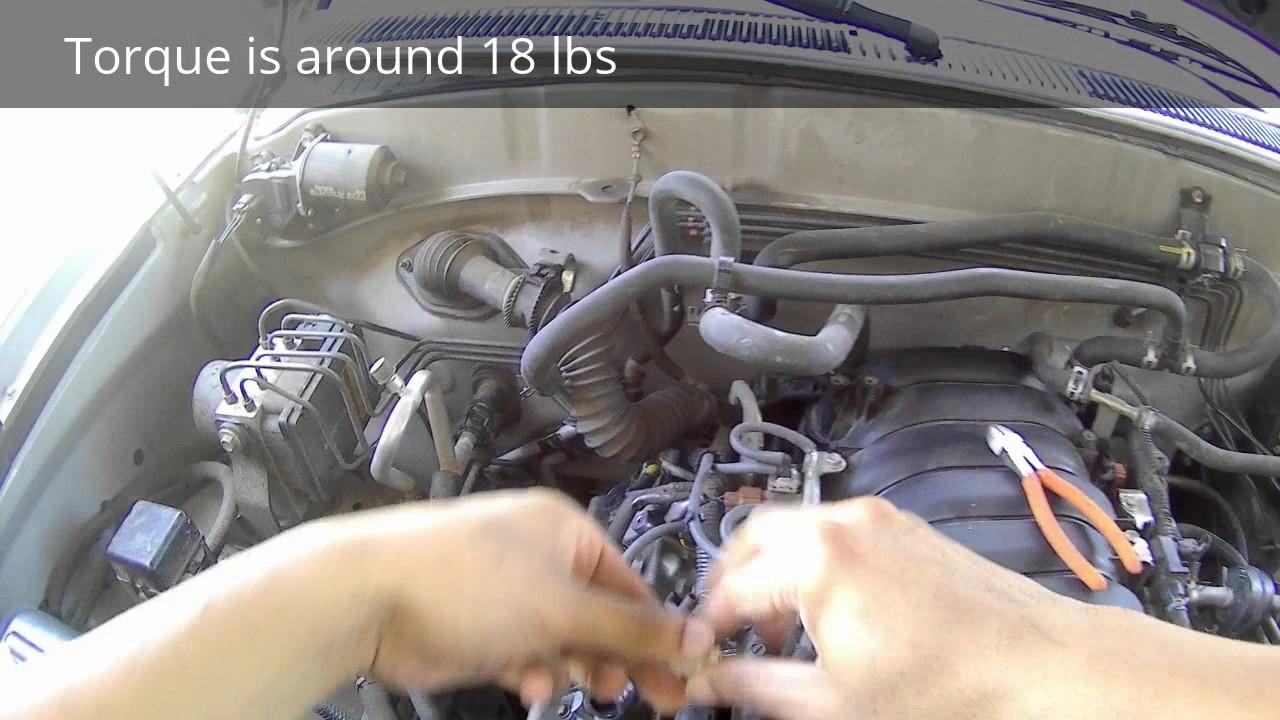 medium resolution of how to install coolant sensor on 2000 2006 sequoia tundra 4runner v8 lexus gx470