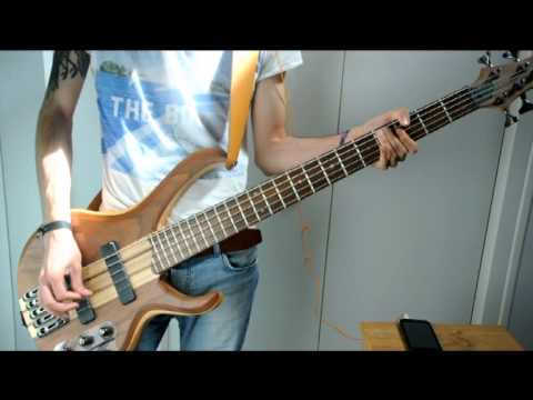 AAA / 「Wake up!」bass cover ( ワンピース One Piece Opening 17