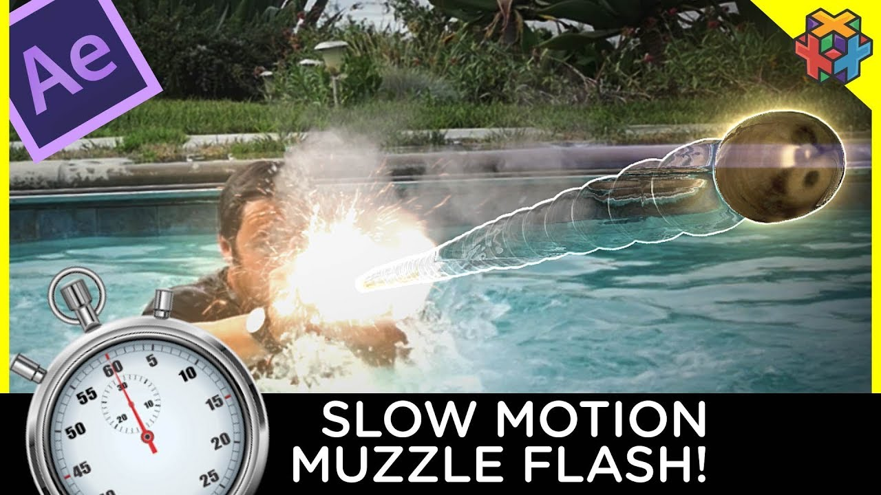 After effects tutorial: gun effects with muzzle flashes youtube.