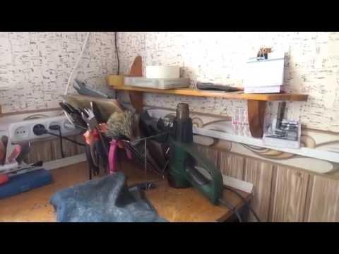 Обзор мастерской по ремонту обуви. Моя мастерская, инструмент и оборудование.