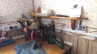 Обзор мастерской по ремонту обуви. Моя мастерская, инструмент и оборудование.(, 2016-03-25T17:01:35.000Z)