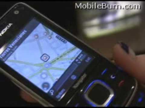 Nokia 6210 Navigator and its electronic compass