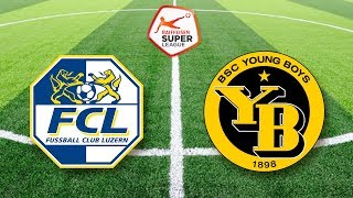FC Luzern - BSC Young Boys (17. Dezember) | Super League #19
