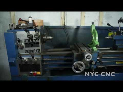 Emco Maximat V13 Lathe - New Equipment!  Overview, Inspecting And Leveling