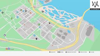 Watch Dogs 2 - Full In-game Map