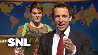 Weekend Update: Stefon and Seth - Saturday Night Live