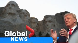 Trump rails against 'angry mobs' during rally at Mount Rushmore | FULL
