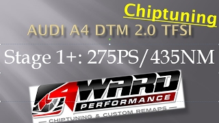 4wp   audi a4 b7 2 0 tfsi dtm edition 220ps   stage 1
