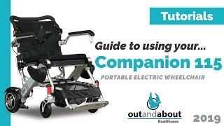 Компаньйон 115 Електричної Крісло-Коляскы Наочний Посібник   Навчальний Посібник : Епізод 5