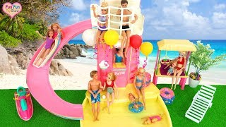 Barbie doll Water Park Pool Party boneka Barbie Taman air Boneca Barbie Parque Aquático
