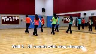 Dance InThe Moonlight - Line Dance (Dance & Teach in English & 中文)
