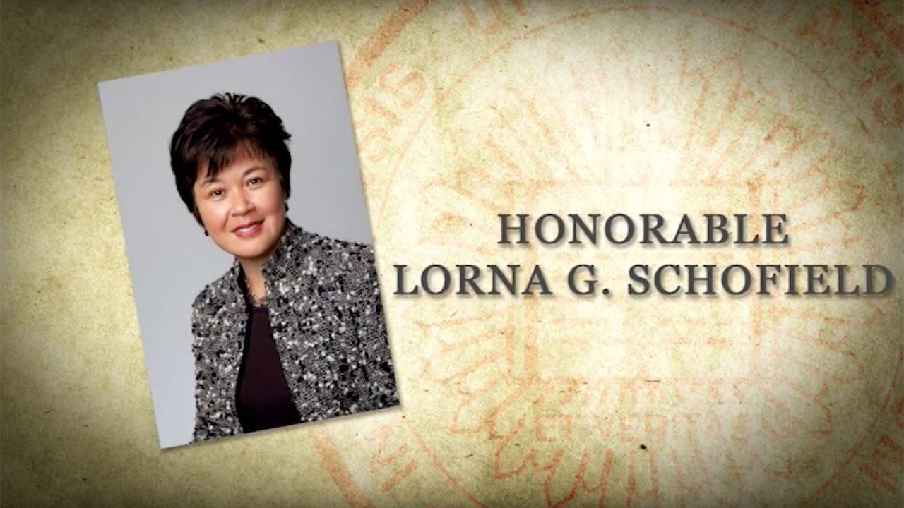 Lorna G. Schofield DASA 2016 Hon Lorna G Schofield YouTube