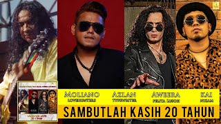 Moliano in Rock ft. Azlan, Aweera & Kai Nizam - Sambutlah Kasih 20th (Official Lyric Video)