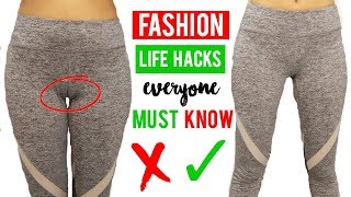 Fashion Life HACKS Everyone Should Know