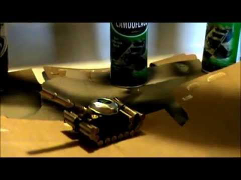Making an Armored Tank from Spent Casing Shells