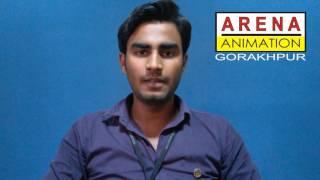 Arena Animation Gorakhpur - Bhanu Pratap-3D-Animator-DQ Entertainment ,