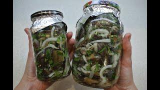 Баклажаны как грибы очень простая и вкусная закуска к столу
