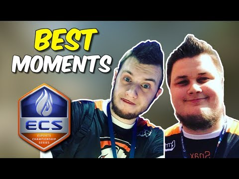 SNAX AND BYALI ON FIRE !!! BEST MOMENTS ECS Season 3 - CS:GO