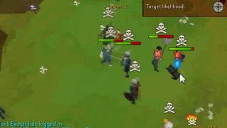 Sir mag5e X runescape bh pk video - BGS pking