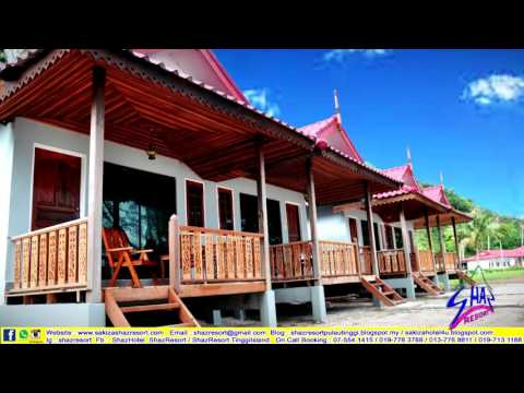 Official video of SHAZ Resort, Pulau Tinggi