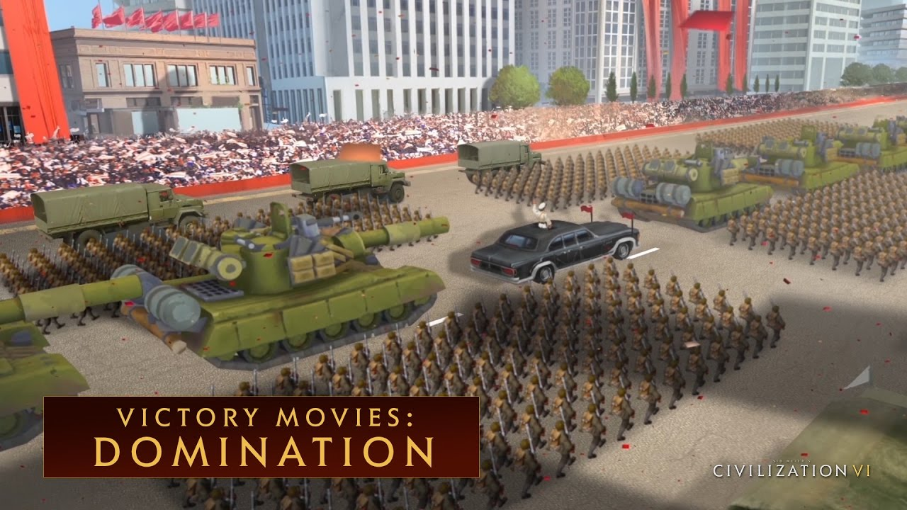 CIVILIZATION VI - Domination Win (Victory Movies) - YouTube