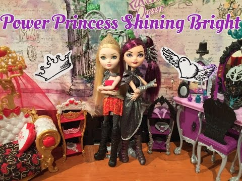 """Ever After High """"Power Princess Shining Bright"""" Movie"""