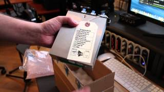 API 550A unboxing