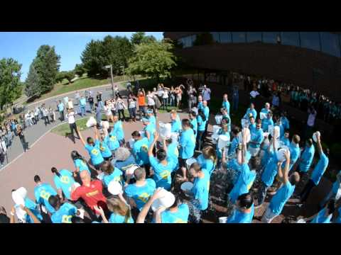 Bloomberg Princeton takes the ALS Ice Bucket Challenge