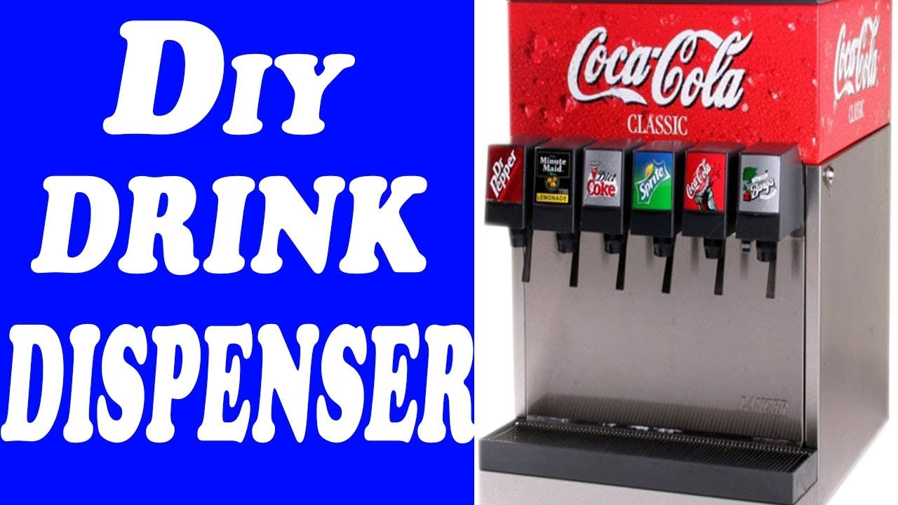 How To Make Electronic Drink Dispenser