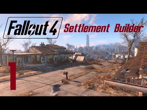 FALLOUT 4: Settlement Builder #1 (Between Ep.4 & 5)