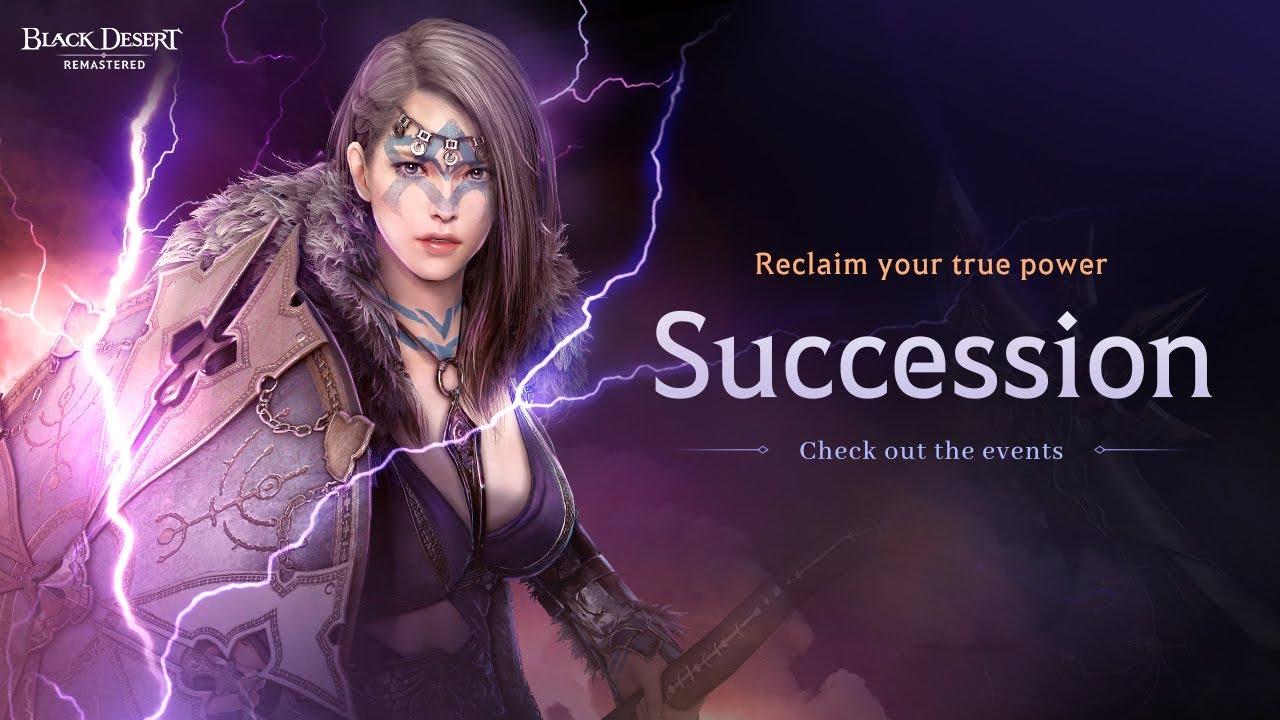 [Black Desert] Succession Updates Fully Released!